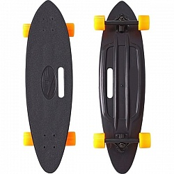 "Скейтборд RT Y-Scoo Longboard Shark 31"" с ручкой и сумкой арт. 409, 79х22"